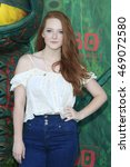 los angeles   aug 14  kaitlyn... | Shutterstock . vector #469072580