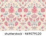 floral seamless pattern. print... | Shutterstock .eps vector #469079120