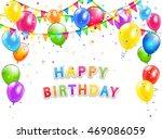 holiday theme  inscription... | Shutterstock .eps vector #469086059