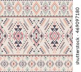 pastel multicolor tribal navajo ... | Shutterstock .eps vector #469097180