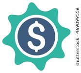 money sticker icon. vector... | Shutterstock .eps vector #469099556
