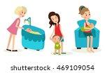 illustration set of the three... | Shutterstock .eps vector #469109054