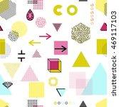 trendy geometric elements... | Shutterstock .eps vector #469117103