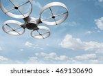 surveillance drone  3d... | Shutterstock . vector #469130690