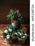 Christmas Floral Wreath...