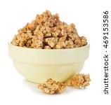 breakfast cereal close up... | Shutterstock . vector #469153586