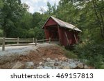 An Old Covered Bridge In South...