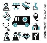 ambulance  medical  emergency...   Shutterstock .eps vector #469165250