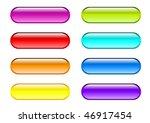 vector pills in rainbow colors. | Shutterstock .eps vector #46917454