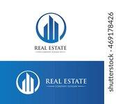 real estate logo | Shutterstock .eps vector #469178426