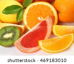 ripe fruit for a healthy diet | Shutterstock . vector #469183010