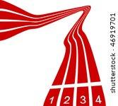 tartan track | Shutterstock .eps vector #46919701