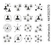 social network icons  social... | Shutterstock .eps vector #469202570