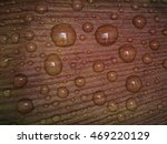 abstract drops of water on... | Shutterstock . vector #469220129