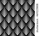 vector seamless black and white ... | Shutterstock .eps vector #469225808
