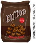 bag of coffee espresso roast... | Shutterstock .eps vector #469232270