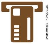 ticket machine icon. vector... | Shutterstock .eps vector #469239608