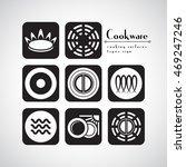 symbols of food grade metal... | Shutterstock .eps vector #469247246