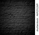 black brick old wall | Shutterstock . vector #469251269
