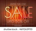 black friday sale with upto 50  ... | Shutterstock .eps vector #469263953