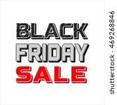 black friday super sale concept.... | Shutterstock .eps vector #469268846
