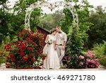wedding. wedding day. beautiful ... | Shutterstock . vector #469271780
