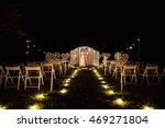 wedding. wedding day. night... | Shutterstock . vector #469271804