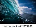 blue ocean background big...   Shutterstock . vector #469274858