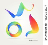 abstract creative colorful... | Shutterstock .eps vector #469281674