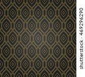 seamless golden pattern. modern