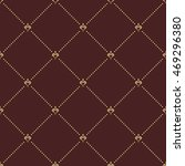 geometric golden ornament with... | Shutterstock . vector #469296380