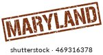 maryland stamp. brown square...
