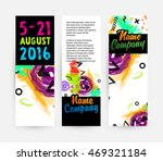 abstract template with... | Shutterstock .eps vector #469321184