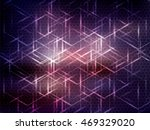 vector abstract science... | Shutterstock .eps vector #469329020