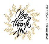 thanksgiving greeting card be... | Shutterstock .eps vector #469333169