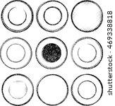 set of nine grunge templates... | Shutterstock .eps vector #469338818