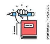 school and education vector... | Shutterstock .eps vector #469360673
