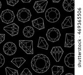 seamless pattern with diamonds... | Shutterstock .eps vector #469365506