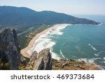 top view to a beautiful beach... | Shutterstock . vector #469373684