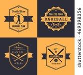 baseball club  team vintage... | Shutterstock .eps vector #469398356