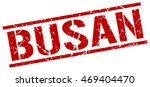 busan stamp. red square busan... | Shutterstock .eps vector #469404470