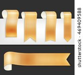 vector ribbons set | Shutterstock .eps vector #469409588