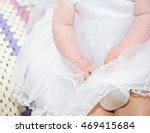 fragment photo of little baby... | Shutterstock . vector #469415684