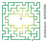 labyrinth for preschool children | Shutterstock .eps vector #469420580