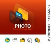 photo color icon  vector symbol ...
