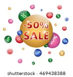sale poster | Shutterstock .eps vector #469438388
