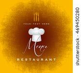 restaurant menu design | Shutterstock .eps vector #469450280
