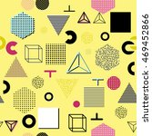 trendy geometric elements... | Shutterstock .eps vector #469452866
