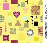 trendy geometric elements...   Shutterstock .eps vector #469452974