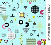 trendy geometric elements... | Shutterstock .eps vector #469453010